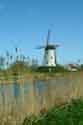 Image Ref: 03-03-56 - Windmill and Canal, Damme, Belgium, Viewed 5394 times