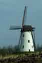 Image Ref: 03-03-86 - Windmill and Canal, Damme, Belgium, Viewed 5367 times