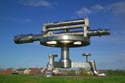 Terris Novalis, Surveyors level sculpture has been viewed 5966 times