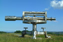 Terris Novalis, Surveyors level sculpture has been viewed 5506 times