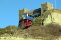 The East Cliff Railway, the steepest in Britain. has been viewed 7762 times