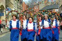 Image Ref: 1033-29-13 - The Tyne Bridge Women's Morris, Morpeth Northumbrian Gathering, Viewed 5242 times