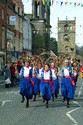 Image Ref: 1033-29-67 - The Tyne Bridge Women's Morris, Morpeth Northumbrian Gathering, Viewed 4361 times