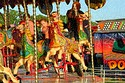 Merry go round, The Hoppings, Newcastle upon Tyne has been viewed 9808 times