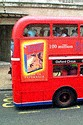 Image Ref: 31-10-54 - Red Routemaster double decker bus, London, England, Viewed 4285 times