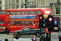 Image Ref: 31-10-7 - Red Routemaster double decker bus, London, England, Viewed 7388 times
