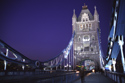 Tower Bridge at night, London, England has been viewed 200207 times
