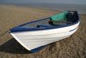 Beach fishing boat, Dunwich Beach. Suffolk, England has been viewed 15289 times