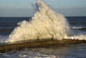 Giant waves on the seafront at Seaham, County Durham has been viewed 6701 times