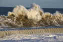 Giant waves on the seafront at Seaham, County Durham has been viewed 8571 times
