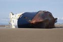 Image Ref: 9908-05-4 - MS Riverdance beached near Blackpool, Viewed 5806 times
