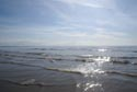 Image Ref: 9908-05-6 - sunlight reflecting off the Irish Sea at Blackpool, Viewed 7660 times