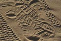 Image Ref: 9908-06-22 - Footprints In The Sand, Viewed 5761 times