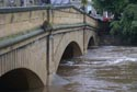 Image Ref: 9908-09-4202 - River Wansbeck, Morpeth during the floods, Viewed 4604 times
