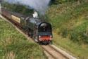 BR Standard class 8P 4-6-2 Pacific steam locomotive 71000 Duke o has been viewed 4237 times