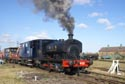 Andrew Barclay 0-4-0 saddle tank number 22 has been viewed 5548 times