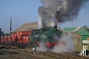 Steam hauled coal train on the Bowes Railway, Springwell has been viewed 4327 times