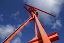 Mark di Suvero's Tyne Anew sculpture which revolves gently in th has been viewed 4739 times