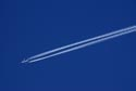 Aircraft vapour trail has been viewed 4491 times