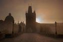 Charles bridge at dawn has been viewed 2768 times