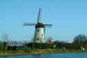 Image Ref: 03-03-3 - Windmill and Canal, Damme, Belgium, Viewed 10539 times