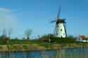 Image Ref: 03-03-4 - Windmill and Canal, Damme, Belgium, Viewed 11306 times