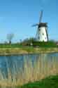 Image Ref: 03-03-58 - Windmill and Canal, Damme, Belgium, Viewed 6549 times