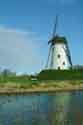 Image Ref: 03-03-59 - Windmill and Canal, Damme, Belgium, Viewed 6590 times