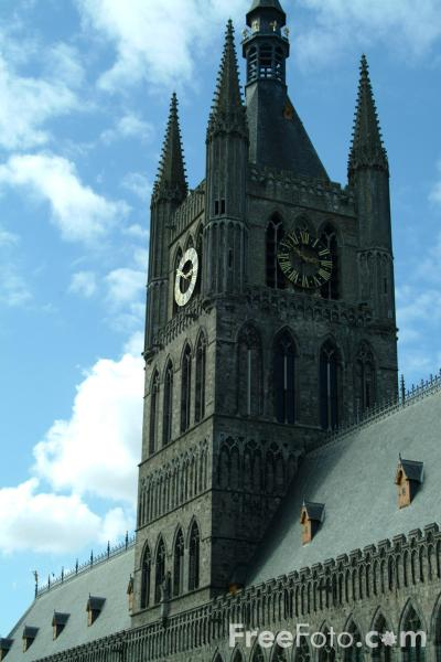 Picture of The Cloth Hall, Ypres / Ieper, Belgium - Free Pictures - FreeFoto.com