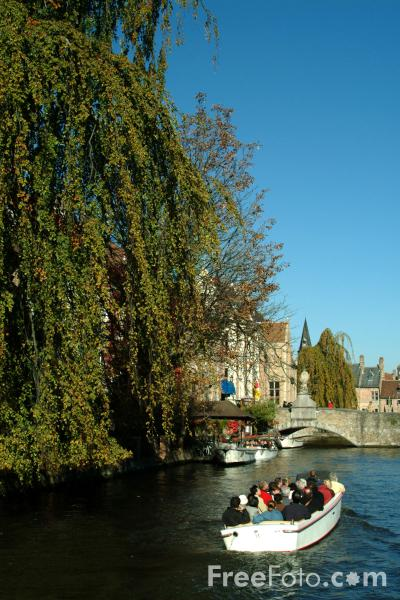 Picture of The Venice of the North, Brugge / Bruges - Free Pictures - FreeFoto.com