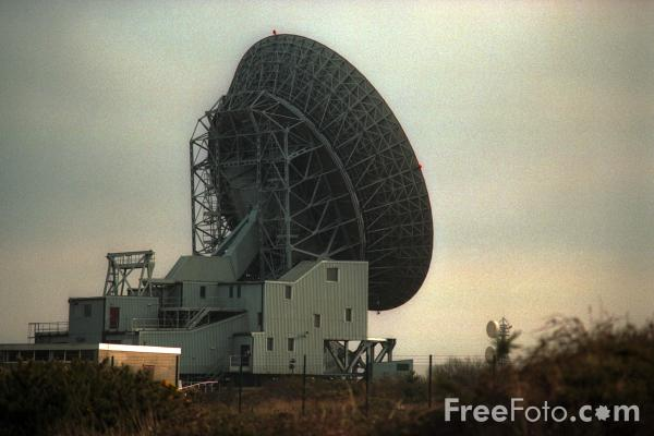 Picture of Gonnhilly Downs Satellite Communications Station - Free Pictures - FreeFoto.com