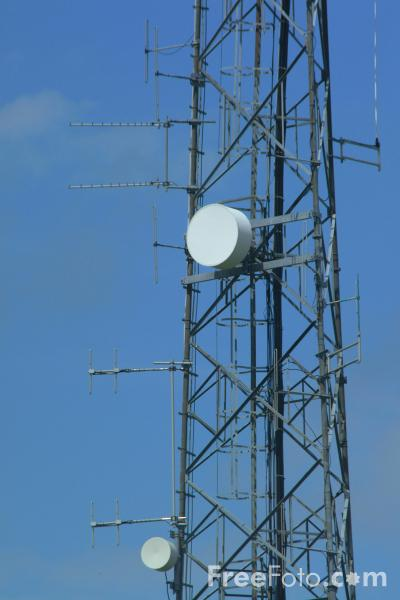 Picture of Mobile Phone Mast - Free Pictures - FreeFoto.com