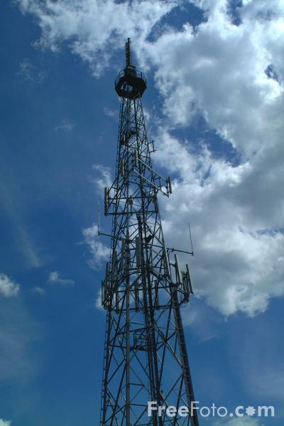 Picture of Television Transmitter Tower, Shotleyfield, County Durham - Free Pictures - FreeFoto.com
