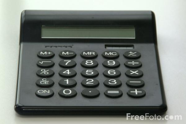 Picture of Calculator - Free Pictures - FreeFoto.com