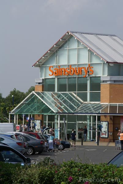 Picture of Sainsbury's Supermarket - Free Pictures - FreeFoto.com