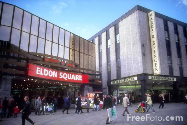 Picture of Eldon Square, Newcastle - Free Pictures - FreeFoto.com