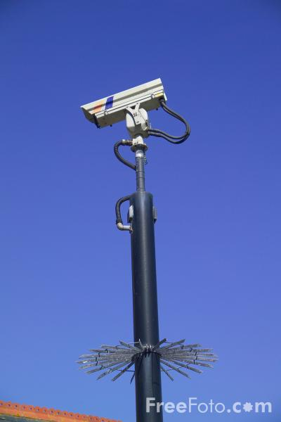 Picture of CCTV Security Camera - Free Pictures - FreeFoto.com