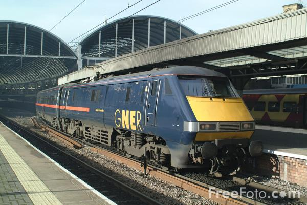 Picture of High Speed Electric Train - Free Pictures - FreeFoto.com
