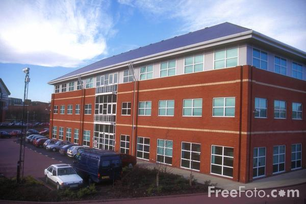 Picture of New Offices, Stockton on Tees - Free Pictures - FreeFoto.com
