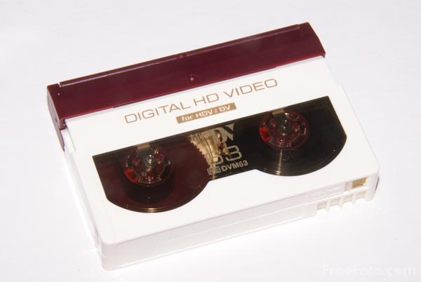 Picture of HDV Digital Video Tape - Free Pictures - FreeFoto.com