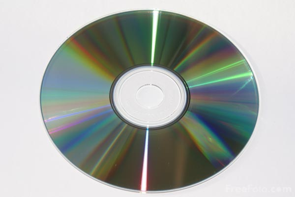 Picture of Compact Disc - Free Pictures - FreeFoto.com
