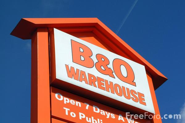 Picture of B and Q - Free Pictures - FreeFoto.com