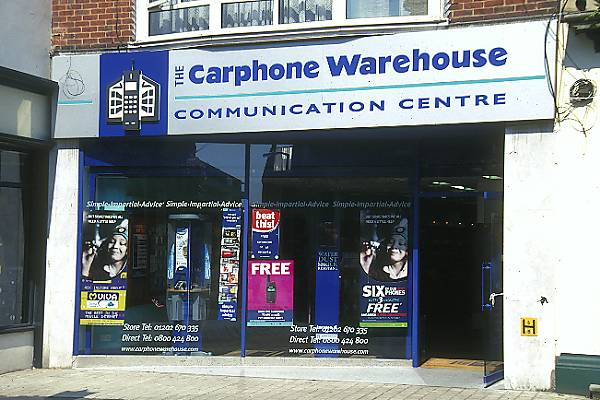 Picture of The Carphone Warehouse - Free Pictures - FreeFoto.com