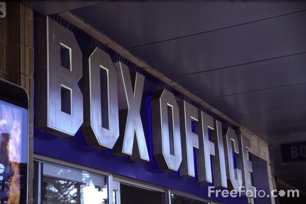 Picture of Box Office - Free Pictures - FreeFoto.com