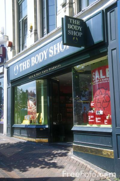 Picture of The Body Shop - Free Pictures - FreeFoto.com