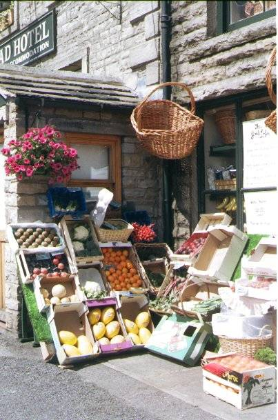 Picture of Fruit and Veg Shop - Free Pictures - FreeFoto.com