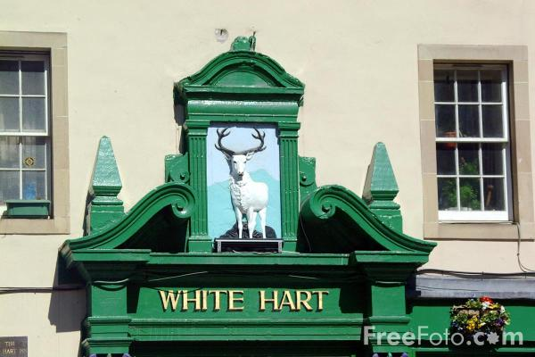Picture of The White Hart Inn, Edinburgh - Free Pictures - FreeFoto.com