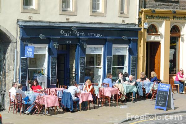 Picture of Petit Paris, Grassmarket, Edinburgh - Free Pictures - FreeFoto.com