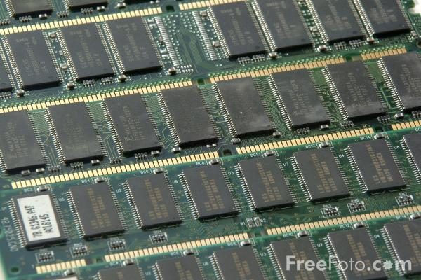 Picture of Computer RAM - Free Pictures - FreeFoto.com