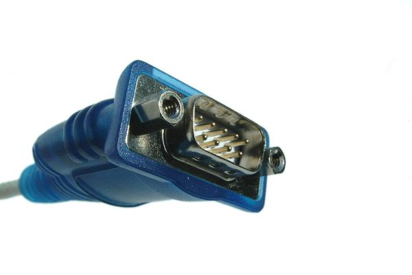 Picture of Serial Connector - Free Pictures - FreeFoto.com